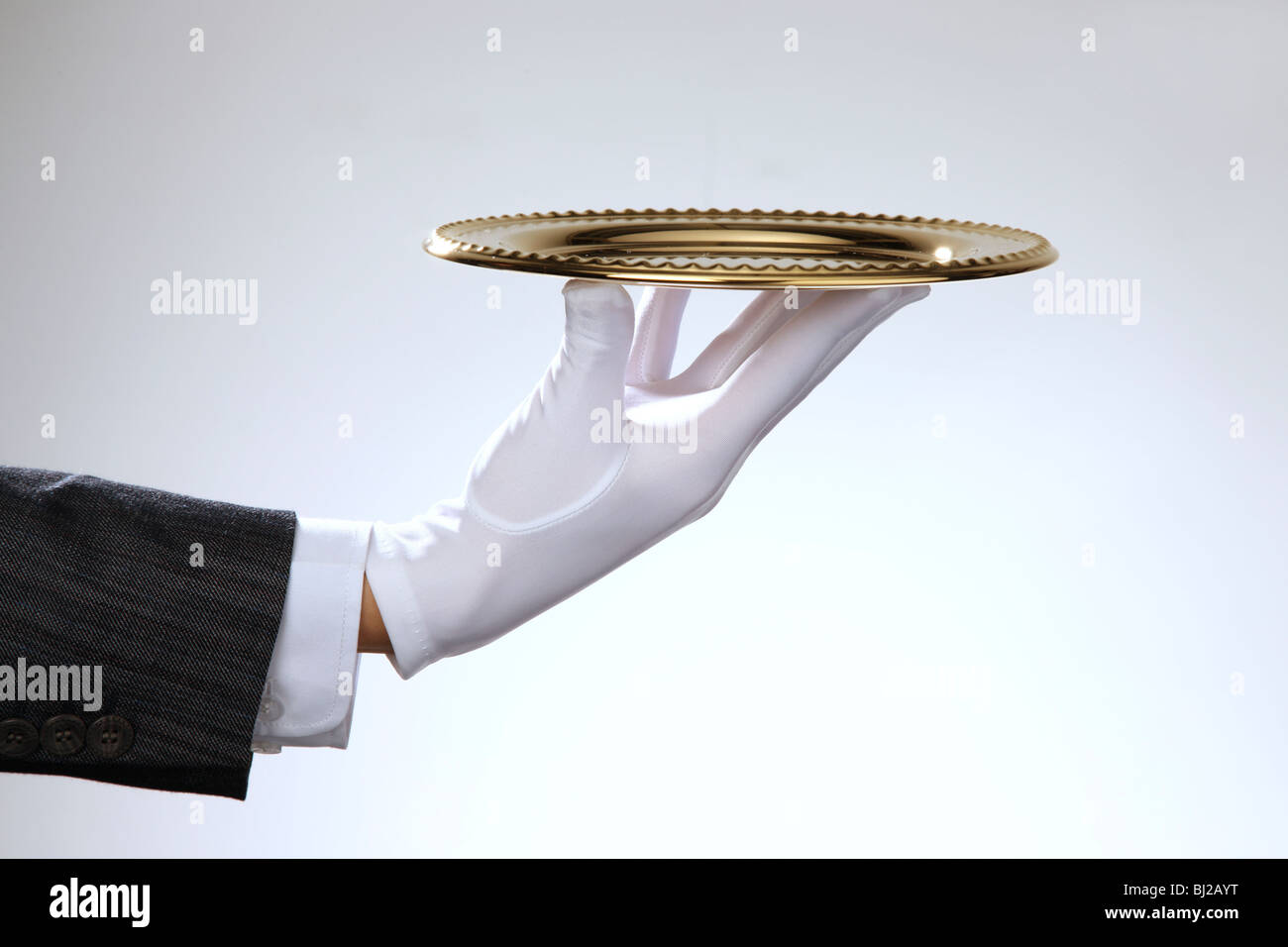 Bandeja de servir,bodegón Imagen De Stock