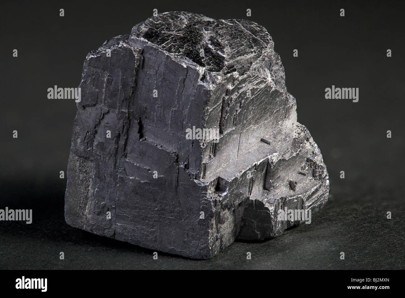 Mineral de galena (plomo) Imagen De Stock