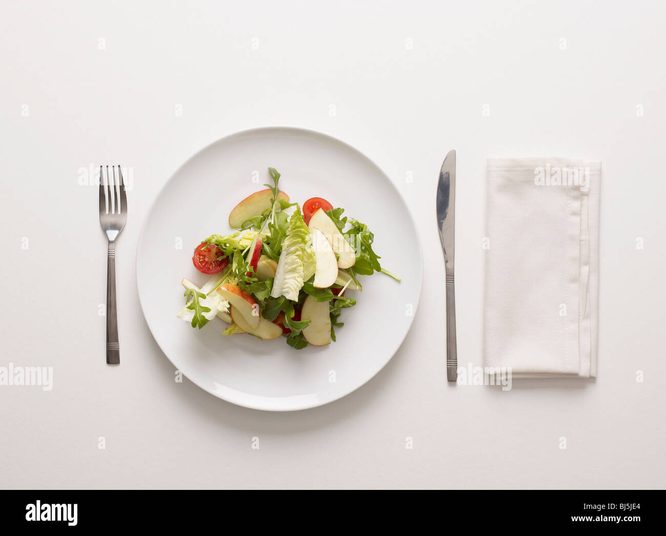 Un plato de ensalada Imagen De Stock