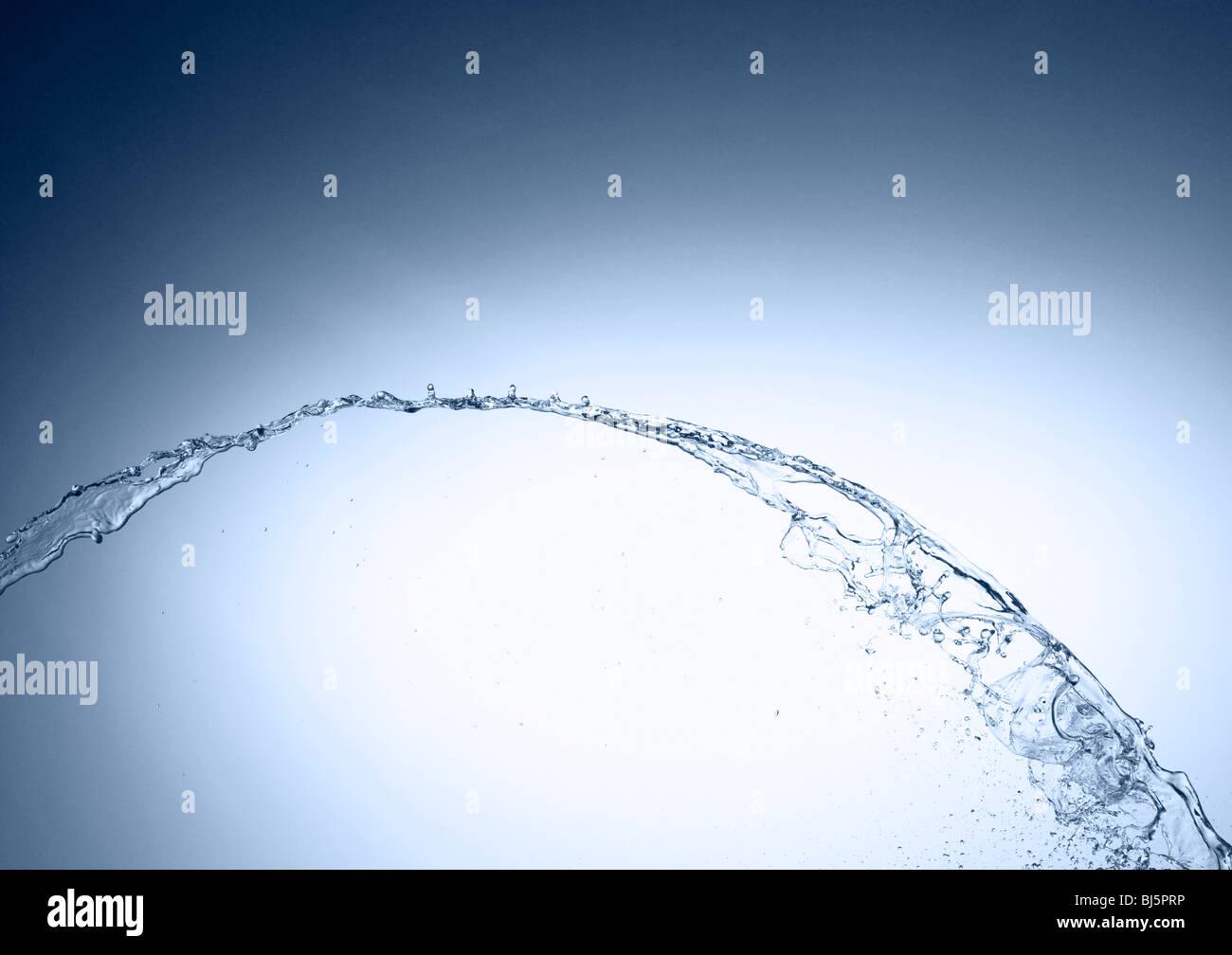 Salpicaduras de agua Imagen De Stock