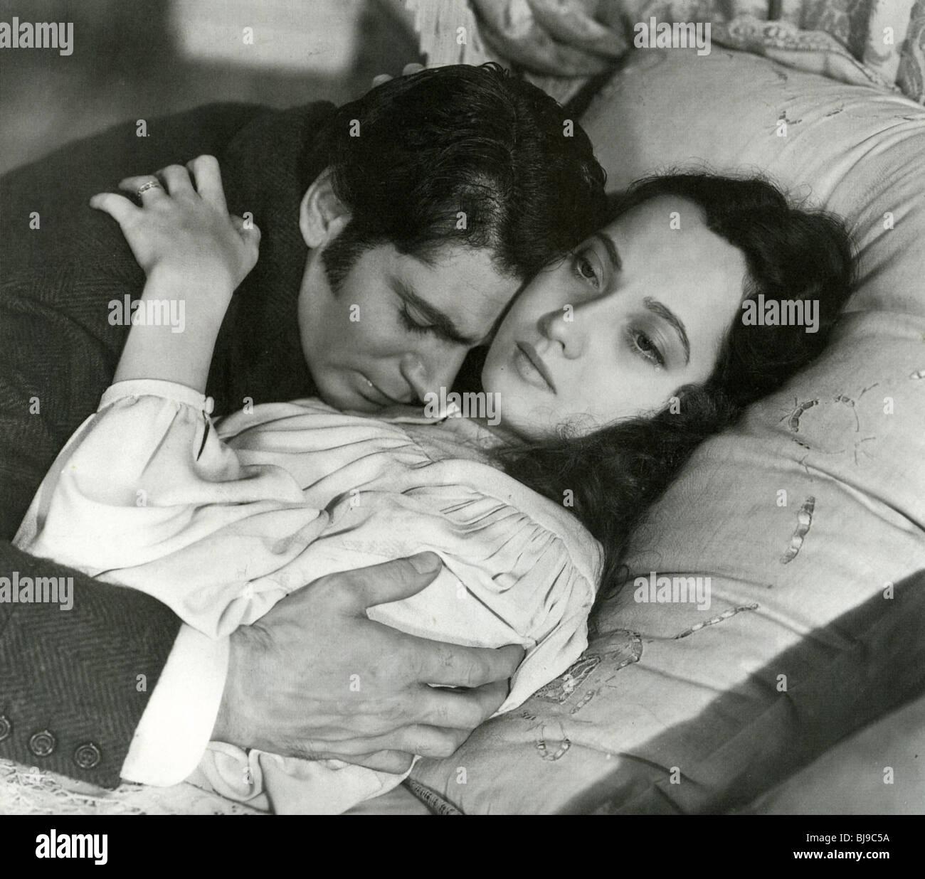 Cumbres Borrascosas - 1939 Goldwin film con Merle Oberon y Laurence Olivier Imagen De Stock