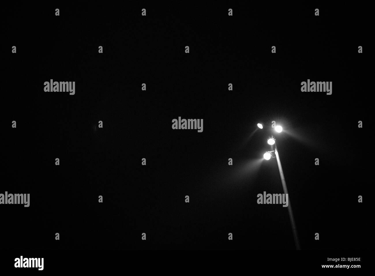 Luces en la oscuridad Imagen De Stock