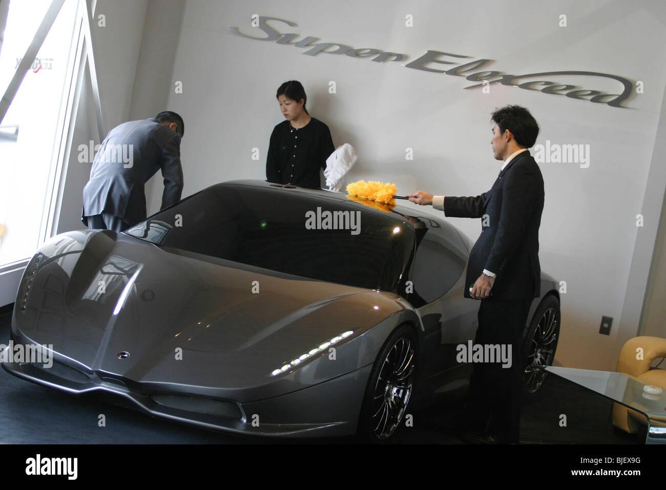Concepto de vehículo Elexceed 'Super'. Imagen De Stock