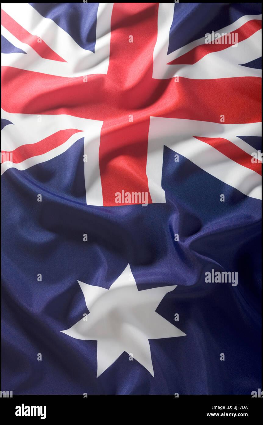 Bandera australiana Imagen De Stock