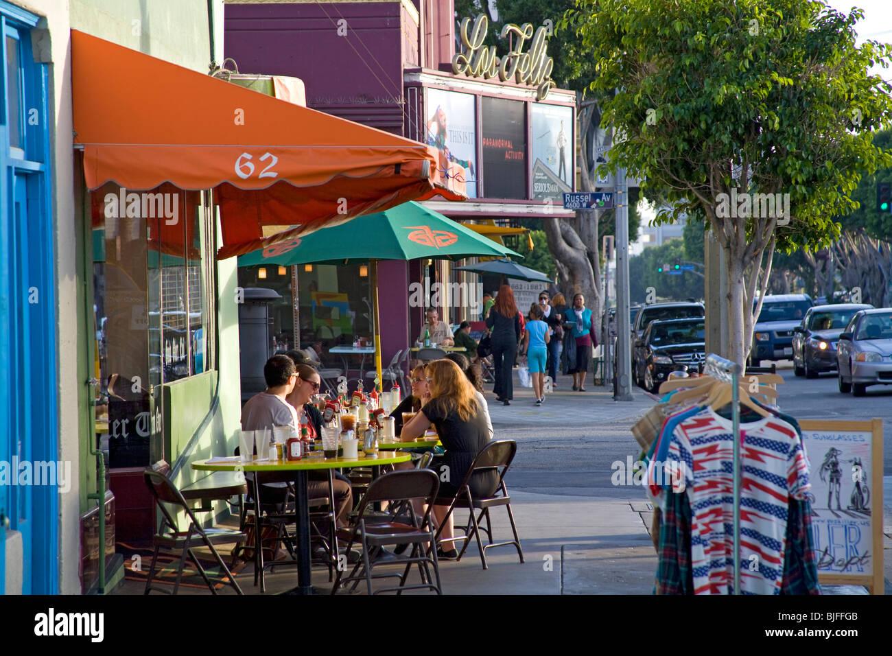 Fred 62, Vermont Ave, Los Feliz, Los Ángeles, California, Estados Unidos. Imagen De Stock