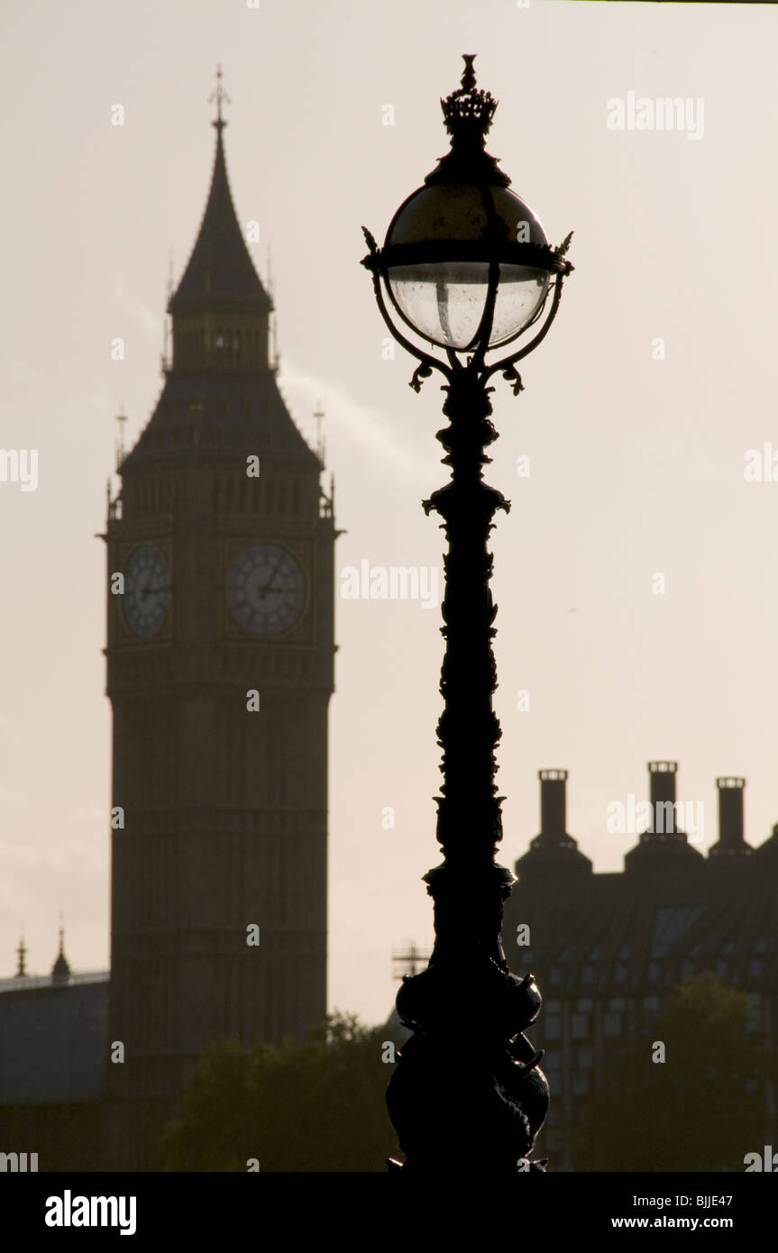 UK.Las Casas del Parlamento, Westminster, Londres. Foto de stock