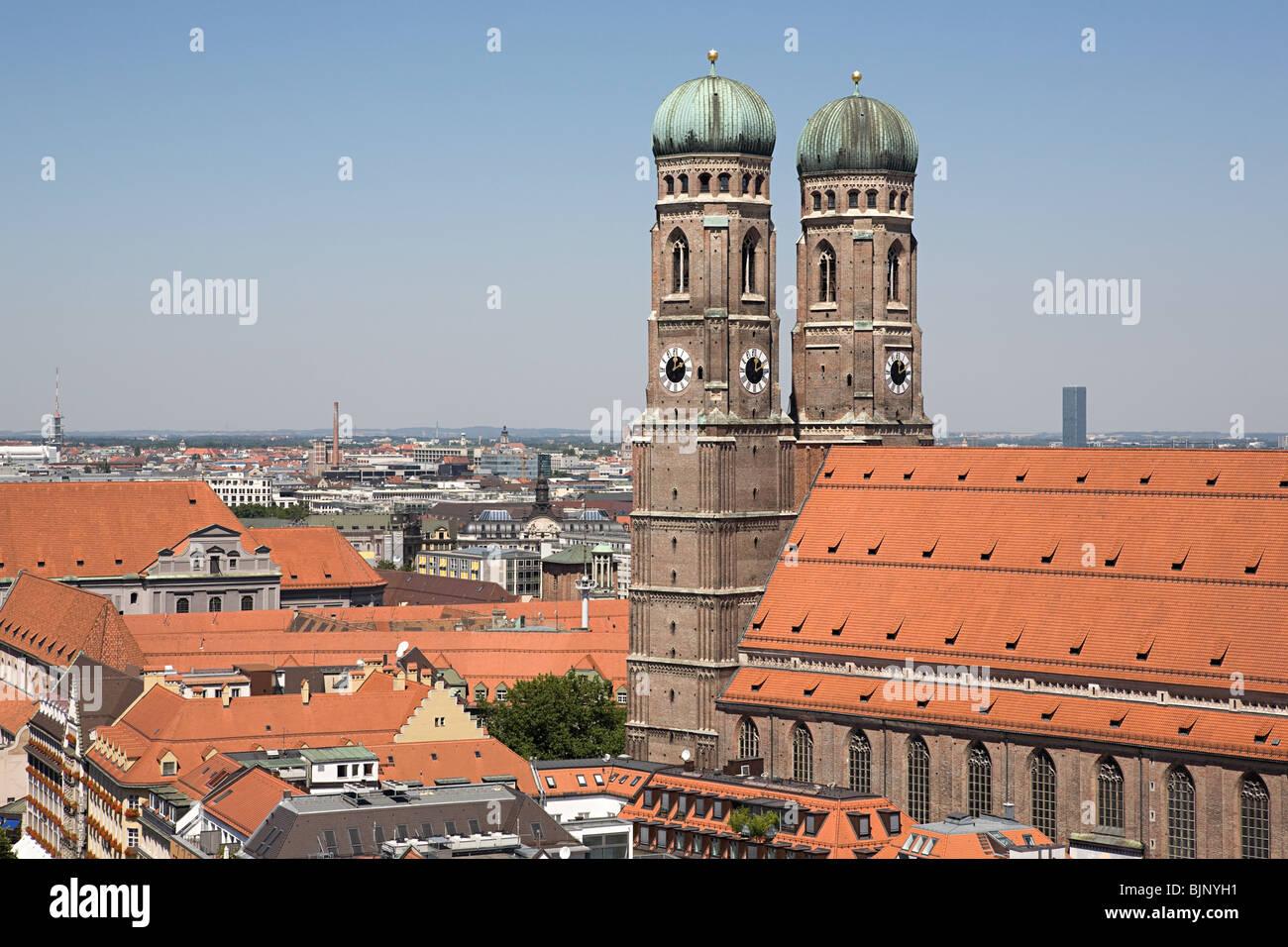 Munich frauenkirche Imagen De Stock
