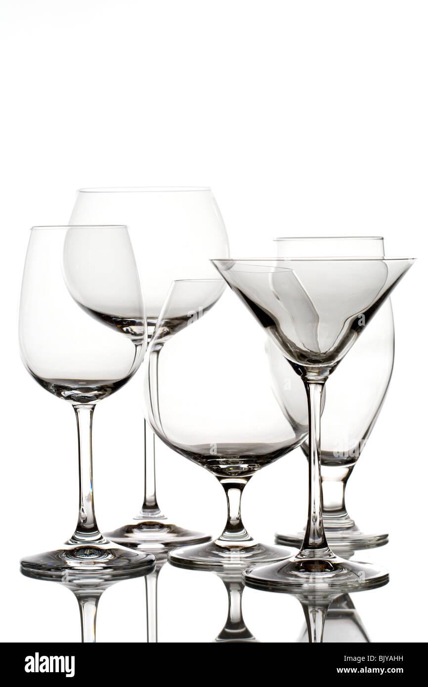 Cristalería Imagen De Stock