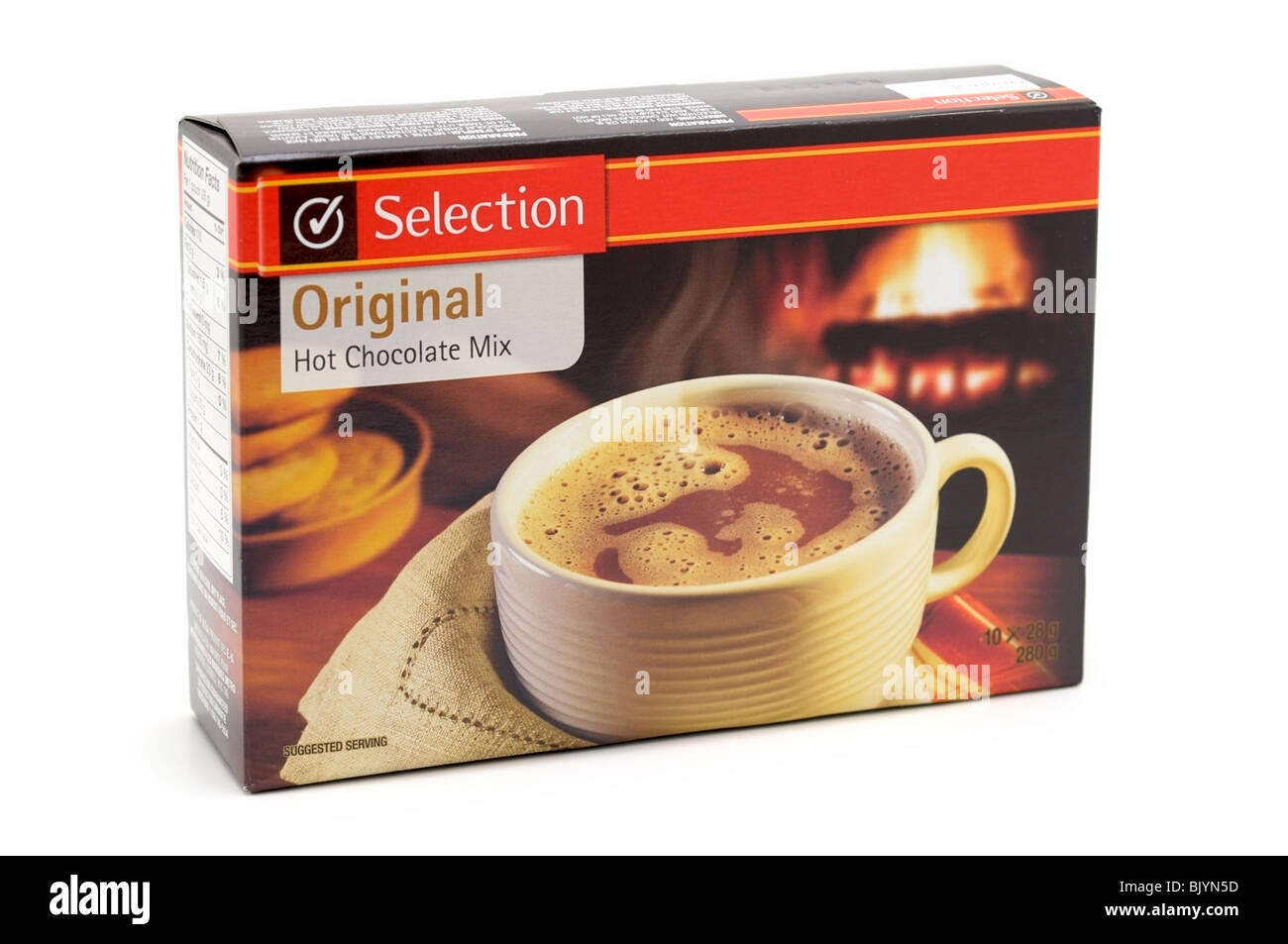 Mezcla de chocolate caliente Imagen De Stock