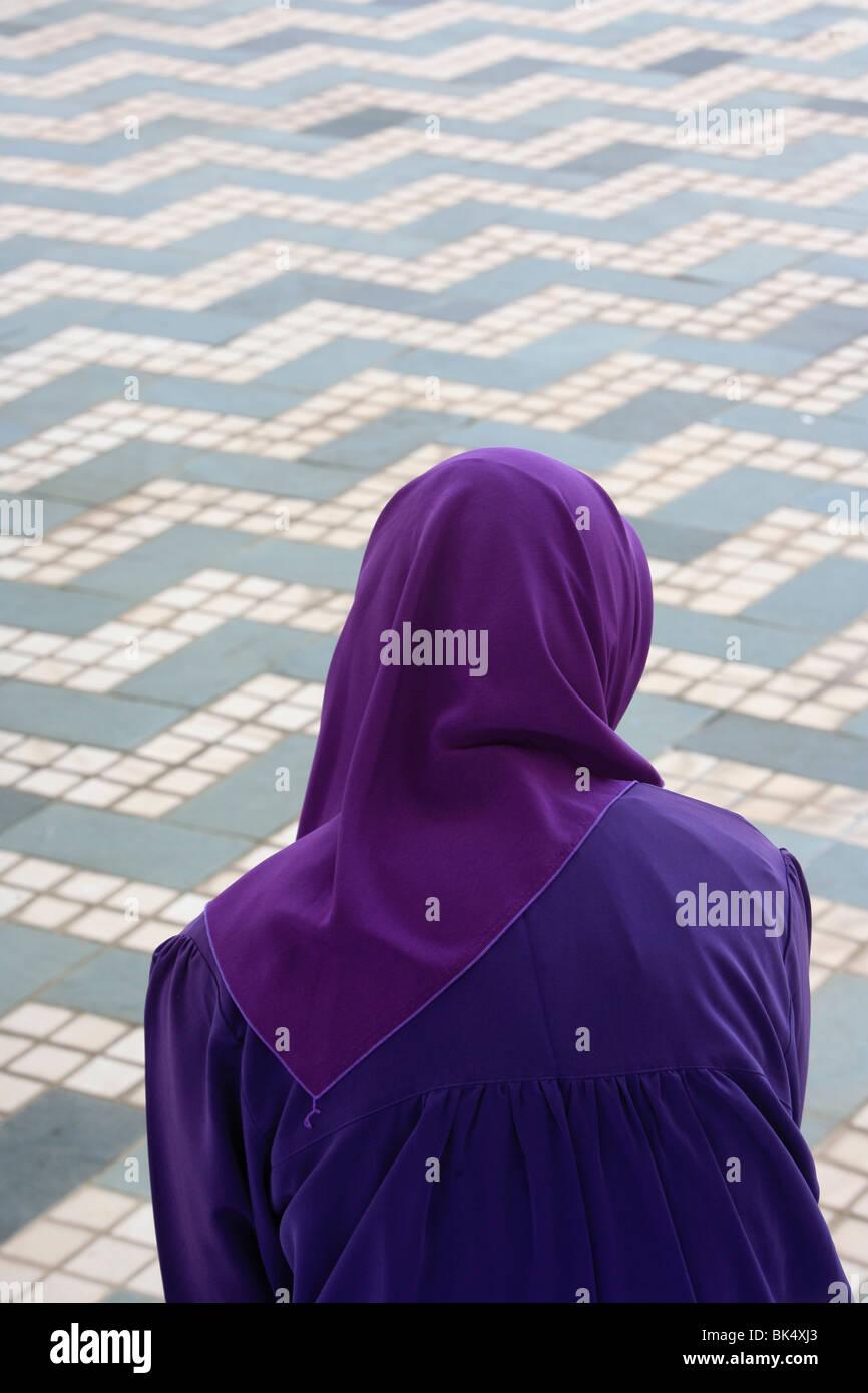 Shal Halam musulmana, mezquita, Selangor, Malasia, Sudeste Asiático, Asia Foto de stock