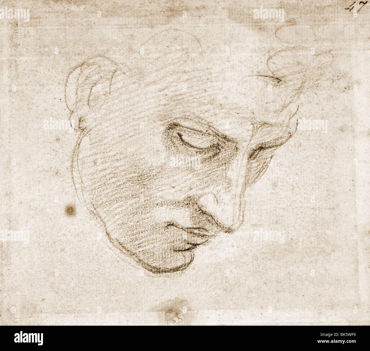 Michelangelo Buonarroti 1475 1564 Imágenes De Stock & Michelangelo ...