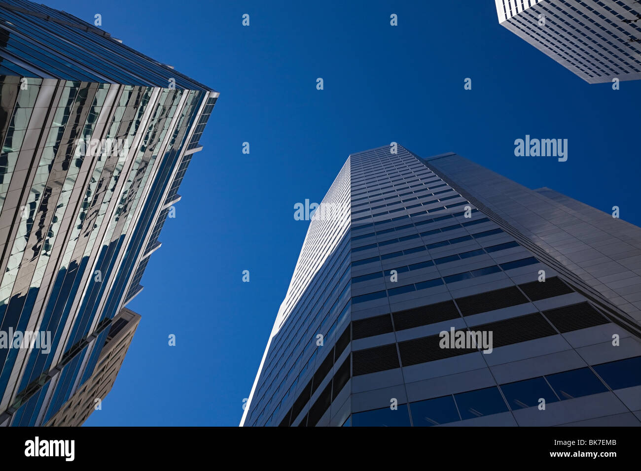 Edificios de oficinas Foto de stock