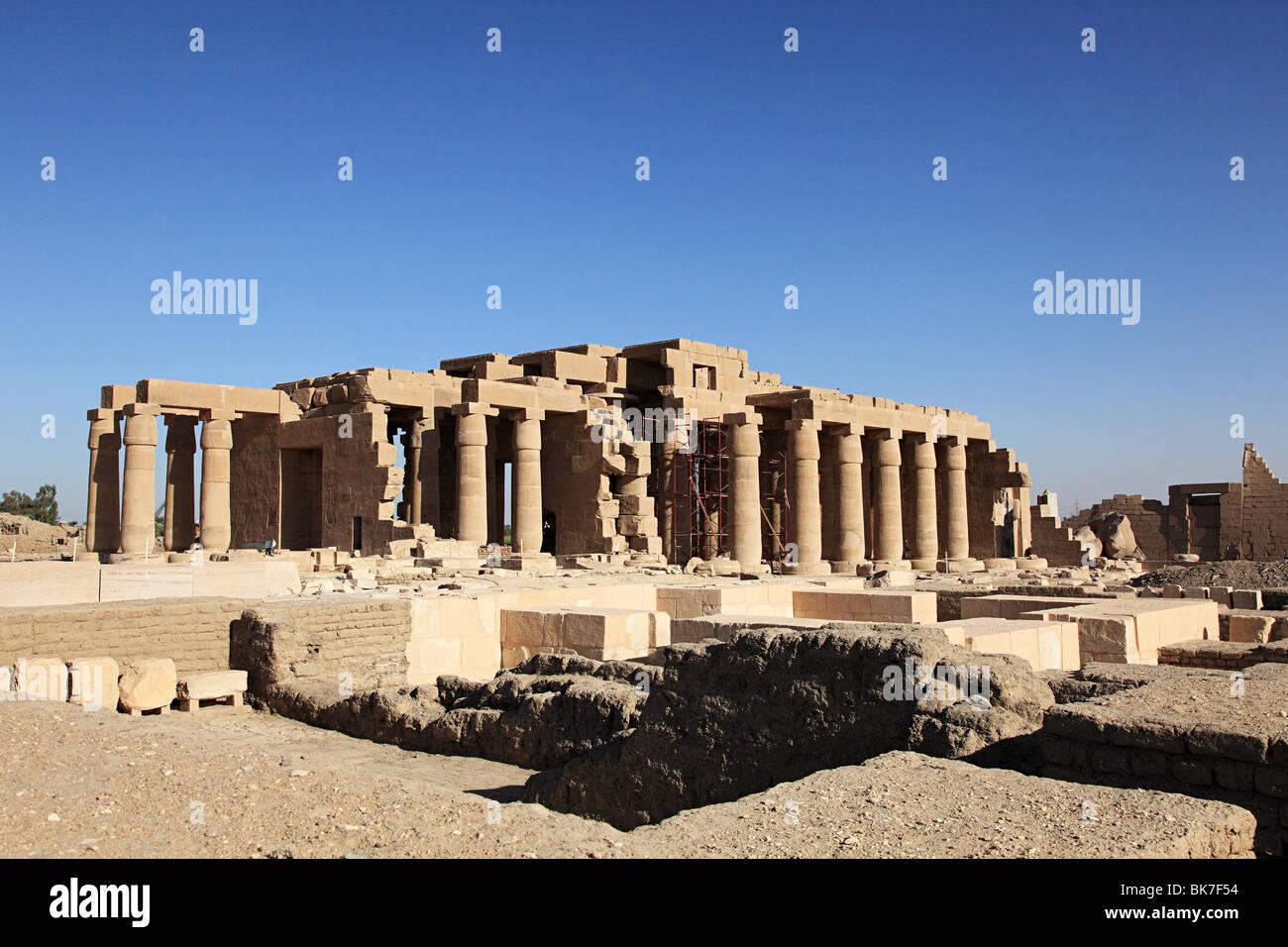Templo Ramesseum Egipto Imagen De Stock