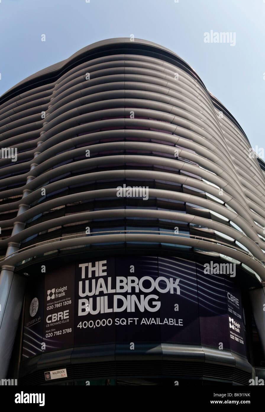 El edificio Walbrook, Londres, Reino Unido. Imagen De Stock
