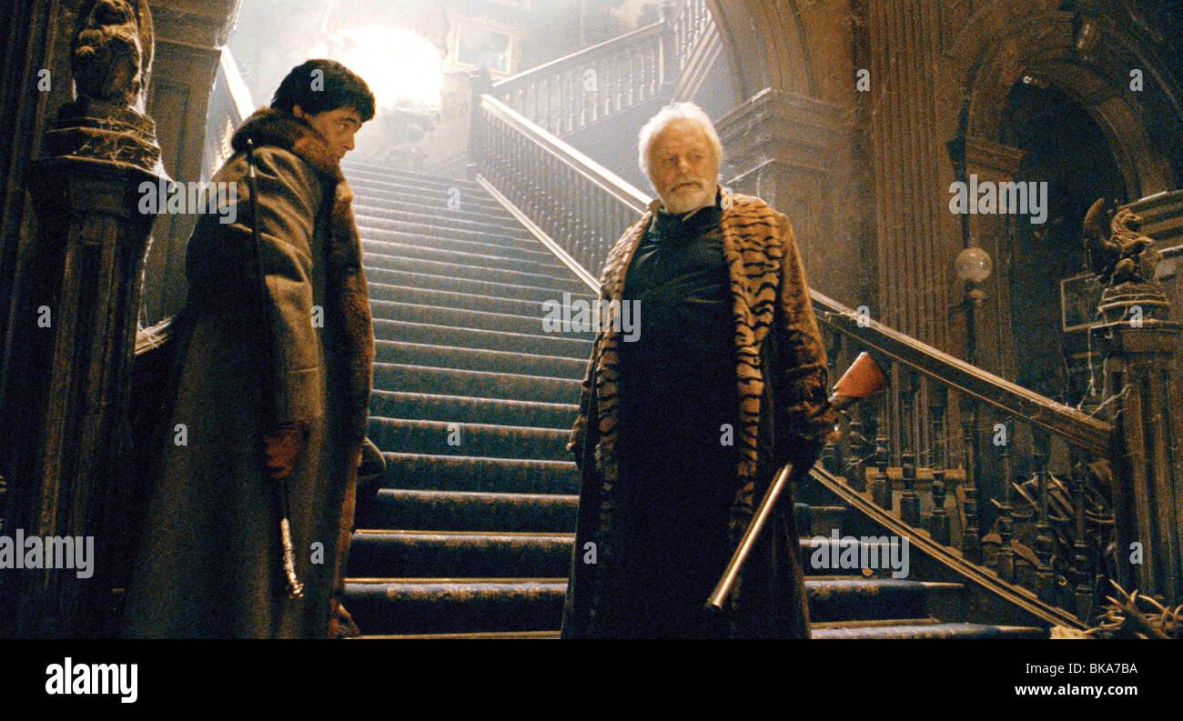 El Wolfman Año : 2010 Director : Joe Johnston Benicio Del Toro, Anthony Hopkins Imagen De Stock