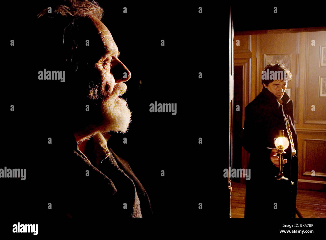 El Wolfman Año : 2010 Director : Joe Johnston Anthony Hopkins, Benicio Del Toro. Imagen De Stock