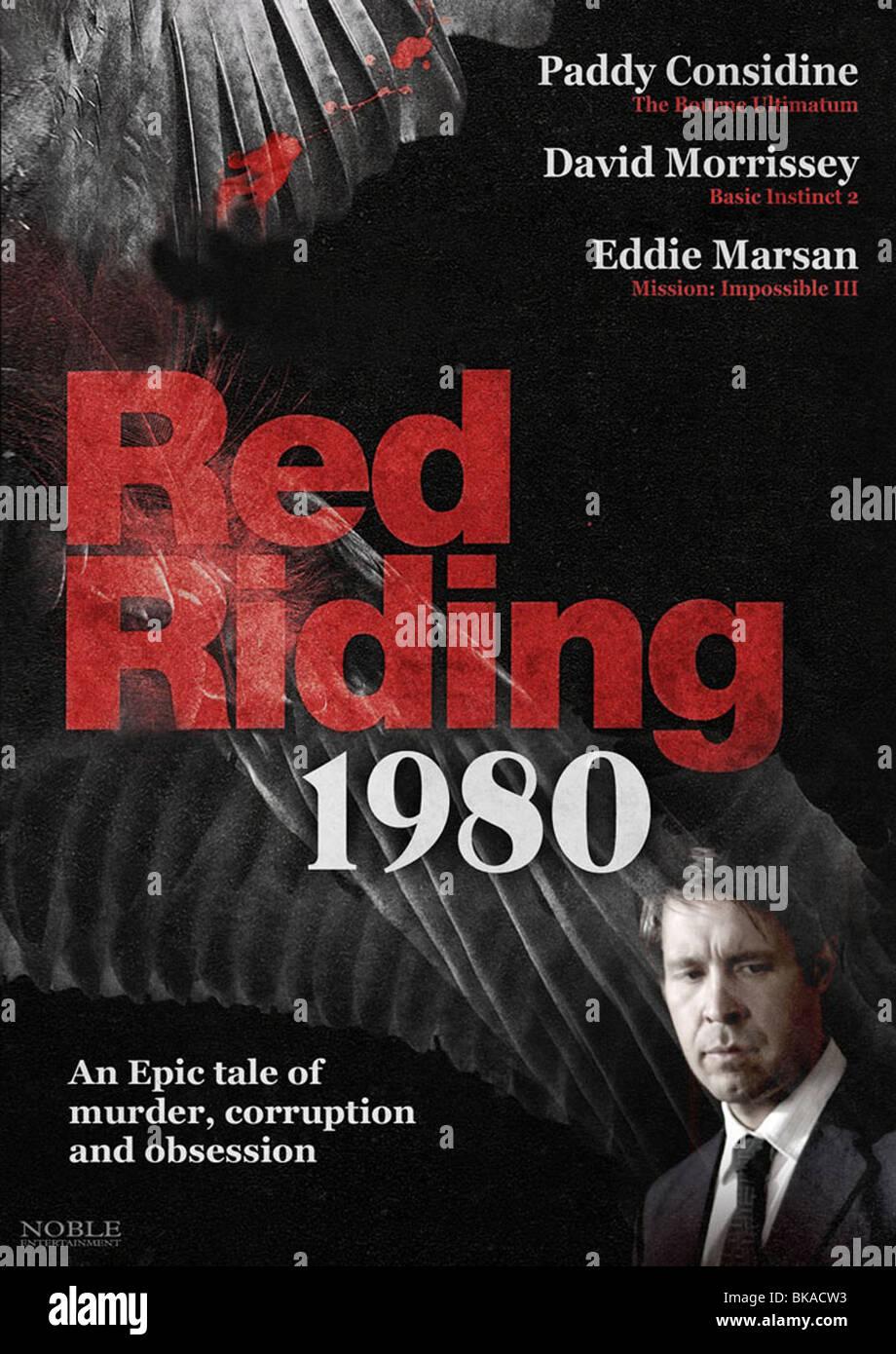 Caballo Rojo: 1980 Año : 2009 Director : británico James Marsh carteles de cine (UK) Imagen De Stock