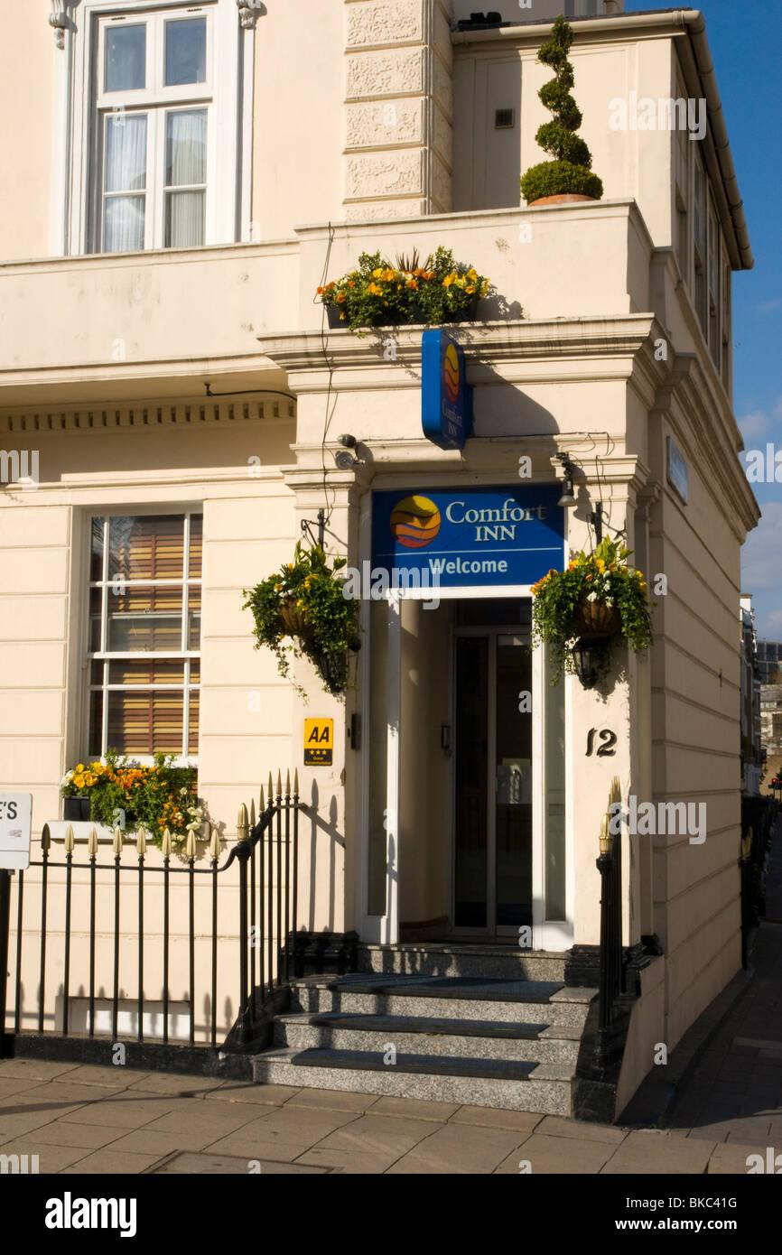 Comfort Inn Hotel, Londres Imagen De Stock