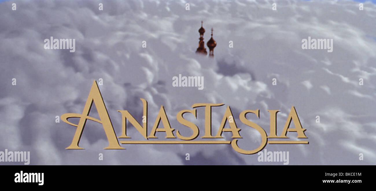 ANASTASIA -1997 Imagen De Stock