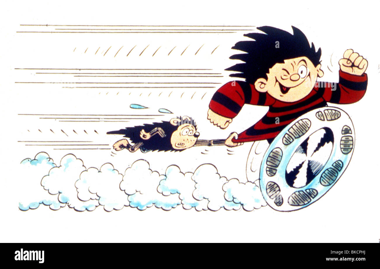 DENNIS the Menace animado Imagen De Stock