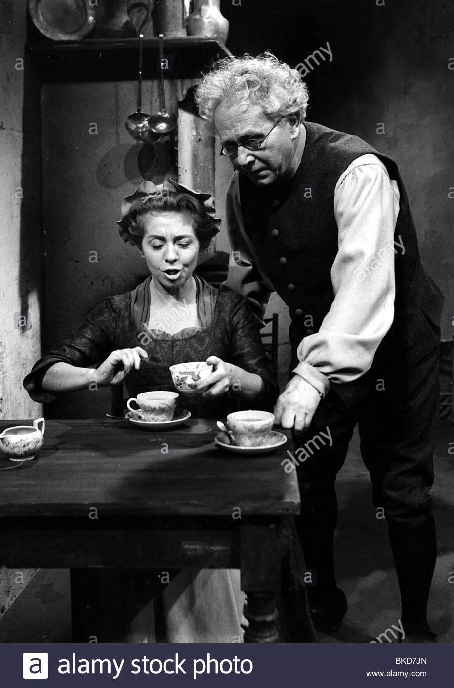 Meysel, Inge, 30.5.1910 - 10.7.2004, actriz alemana, escena cinematográfica, película no identificada, 1960, mujer, Foto de stock