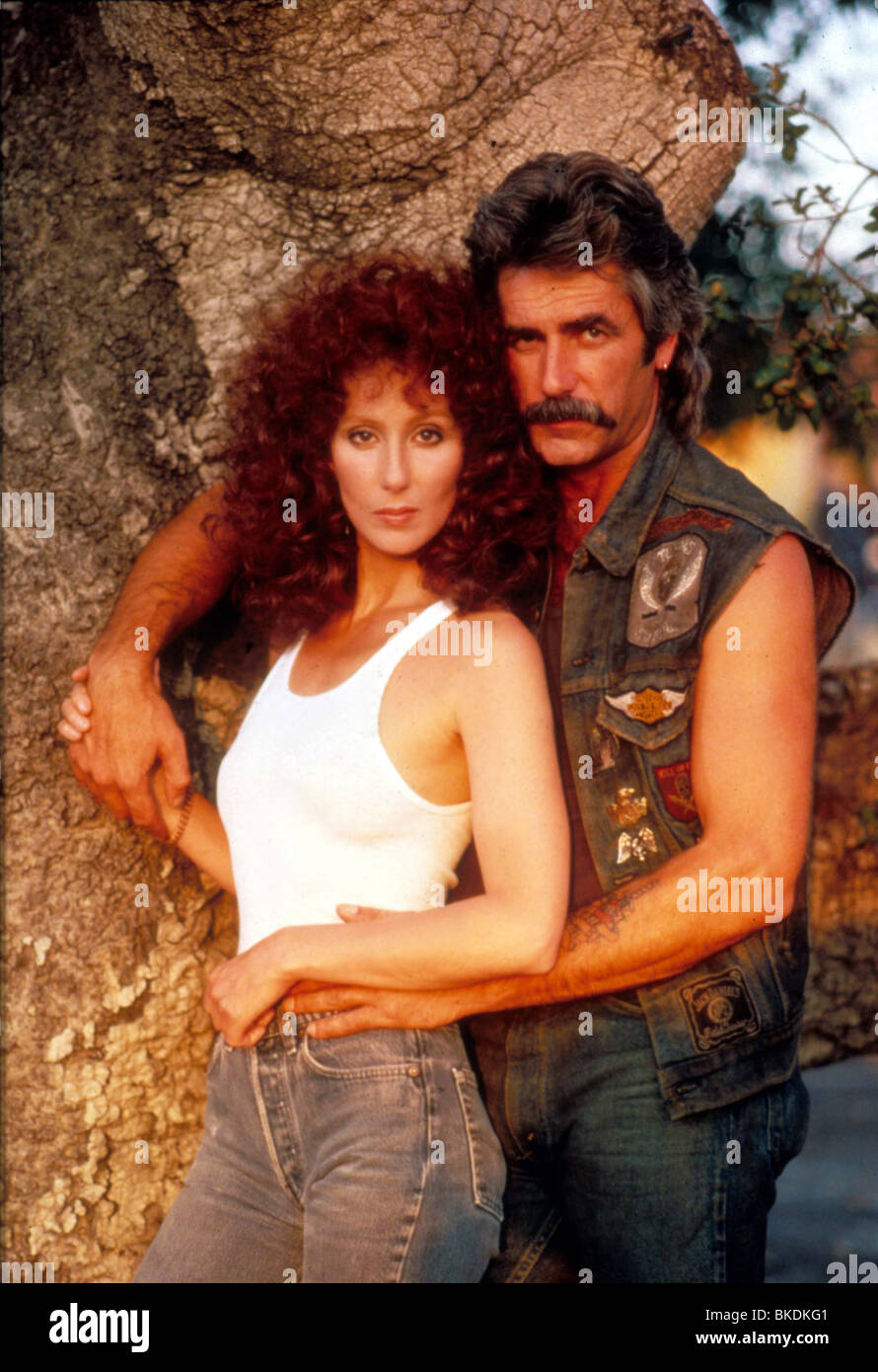 Máscara -1985 Cher, Sam Elliott Imagen De Stock