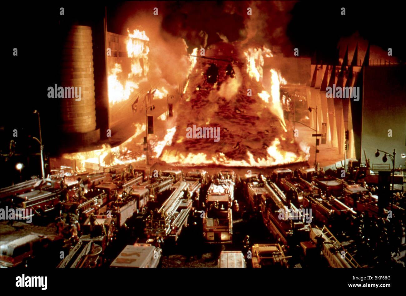 VOLCÁN -1997 Imagen De Stock