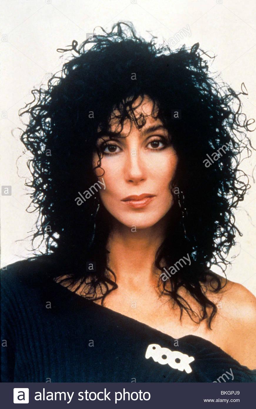 MOONSTRUCK -1987 Cher Imagen De Stock