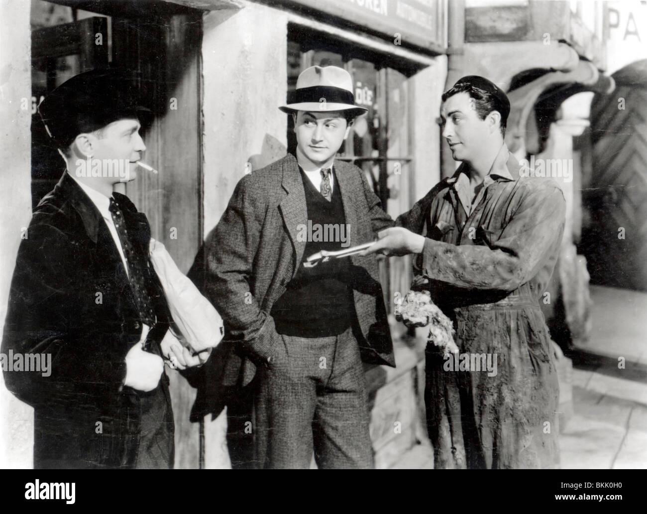 Tres camaradas (1938), Franchot Tone, Robert Taylor, Robert Young TREC 005 P Imagen De Stock