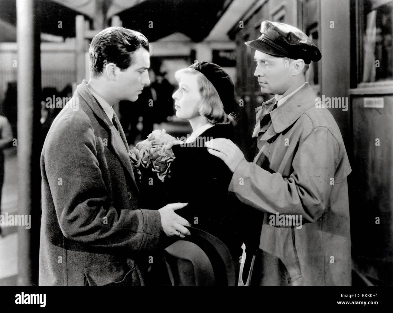 Tres camaradas (1938), Robert Taylor, MARGARET SULLAVAN, Franchot Tone TREC 007 P Imagen De Stock