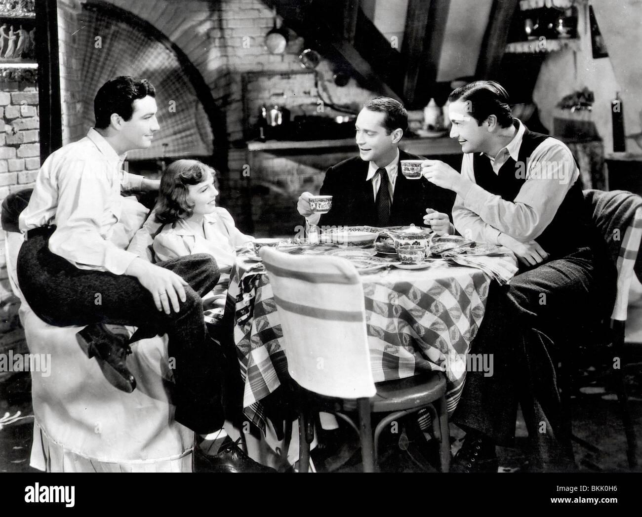Tres camaradas (1938), Robert Taylor, MARGARET SULLAVAN, Franchot Tone, Robert Young TREC 008 P Imagen De Stock