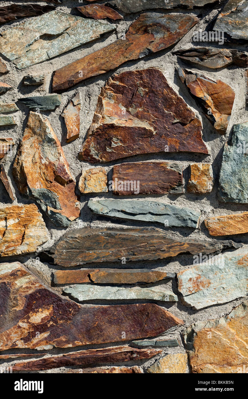 Muro de piedra para utilizar de fondo Imagen De Stock