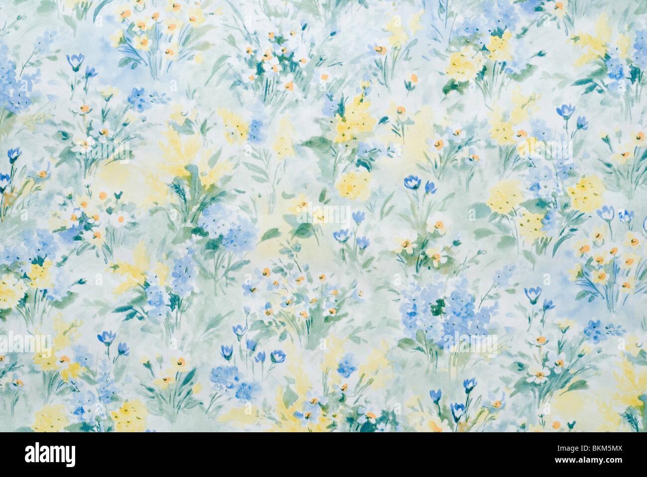 Papel tapiz florido Imagen De Stock