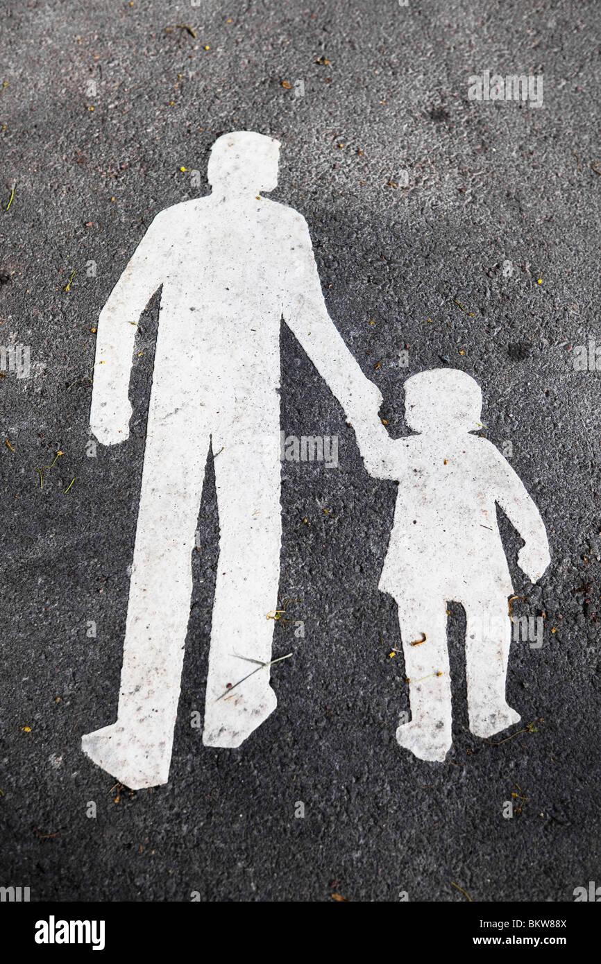 Símbolo en la calle Imagen De Stock
