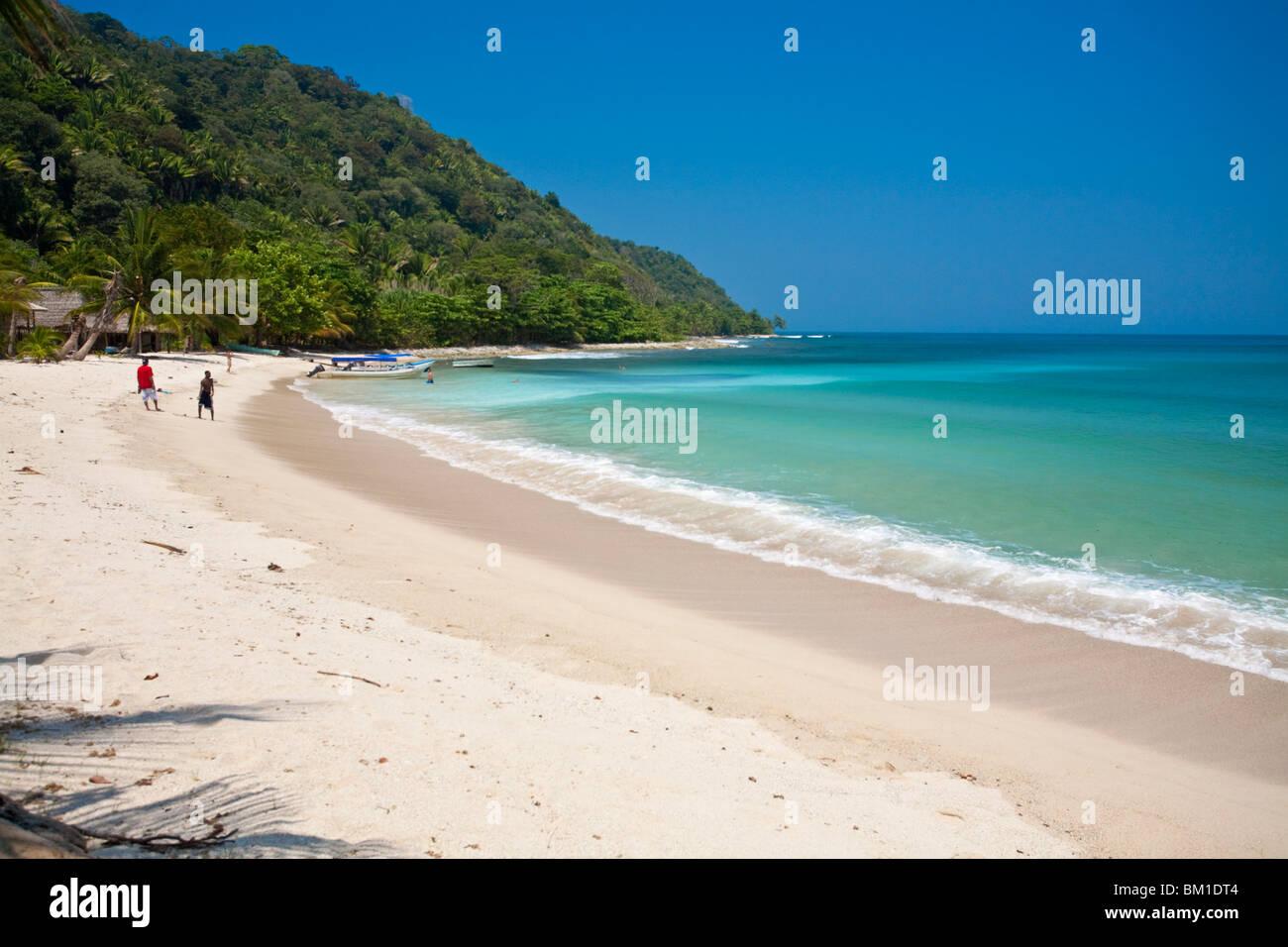 Cocalto Playa, Parque Nacional Jeannette Kawas, Punta Sal, Tela, Honduras, América Central Imagen De Stock