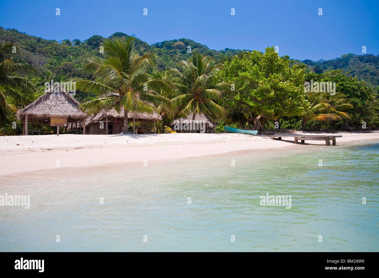 Cocalto Playa, Parque Nacional Jeannette Kawas, Punta Sal, Tela, Honduras Imagen De Stock