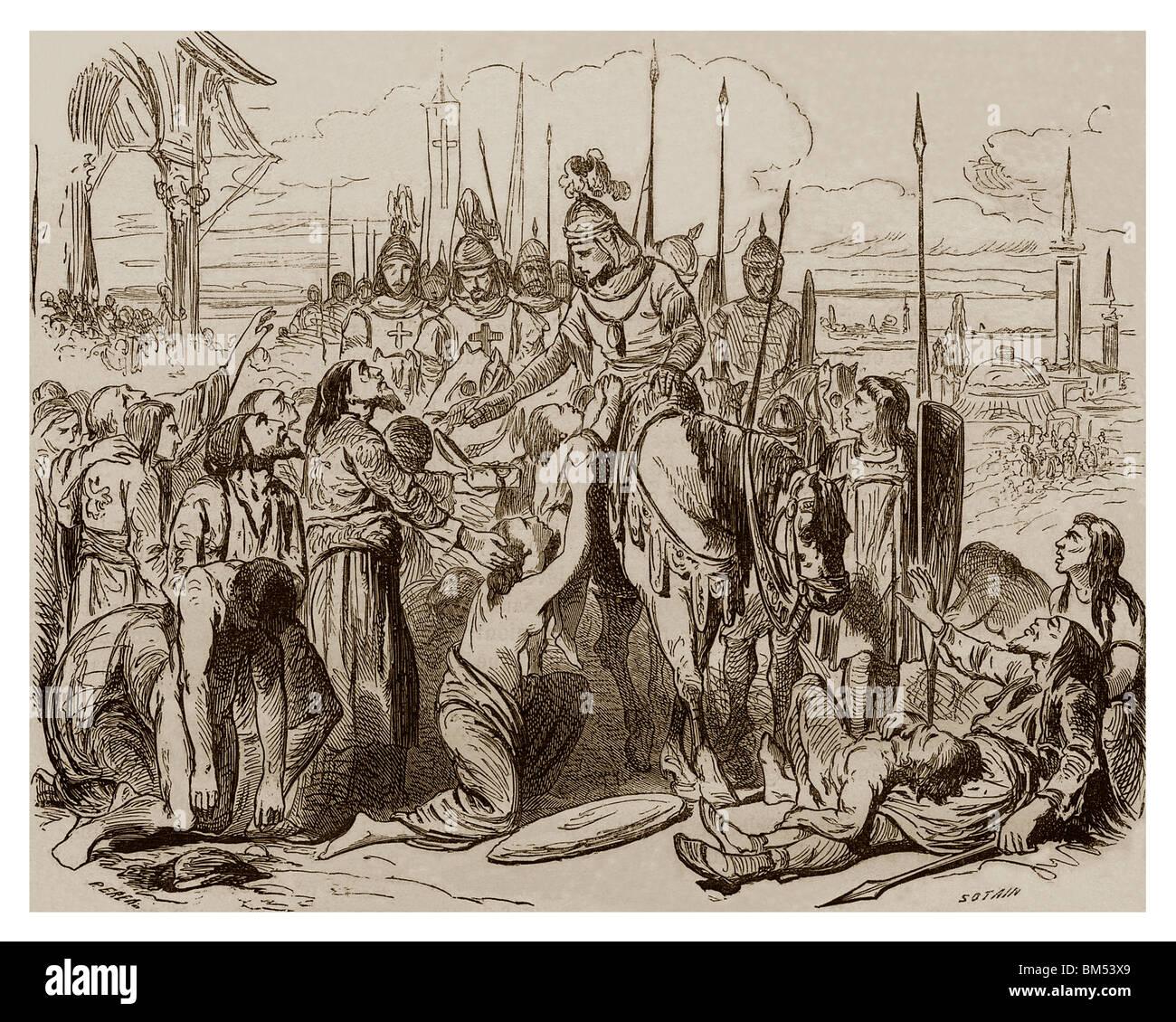 Cuarta Cruzada | En 1204 Durante La Cuarta Cruzada Baldwin De Flandes Y De Hainaut