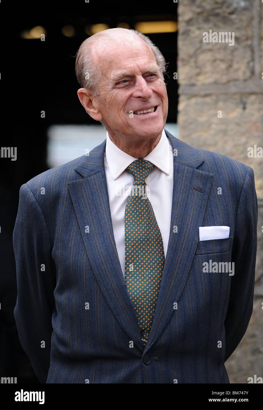 El príncipe Felipe, Duque de Edimburgo el 20 de mayo de 2010 en Scarborough North Yorkshire Imagen De Stock