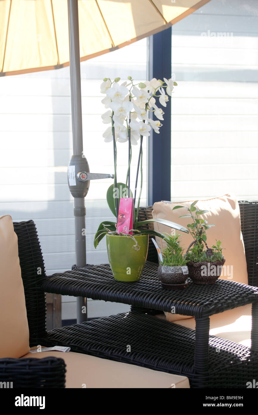 Patio Furniture Parasol Imágenes De Stock & Patio Furniture Parasol ...