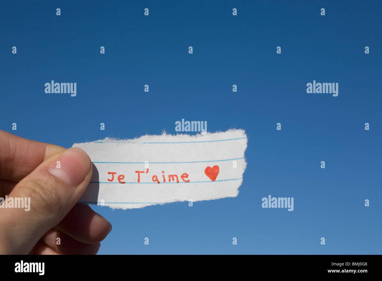 Amor Escrito En Arena: I Love You Imágenes De Stock & I Love You Fotos De Stock