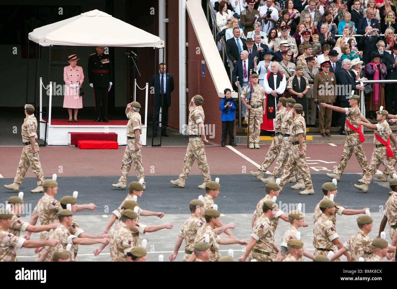 Royal Welch fusileros Performance Polo