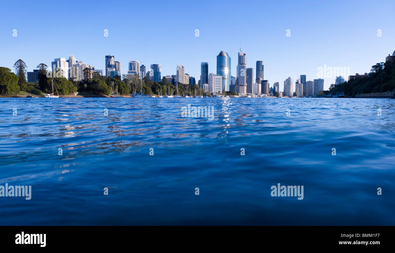Brisbane paisaje panorámico Imagen De Stock