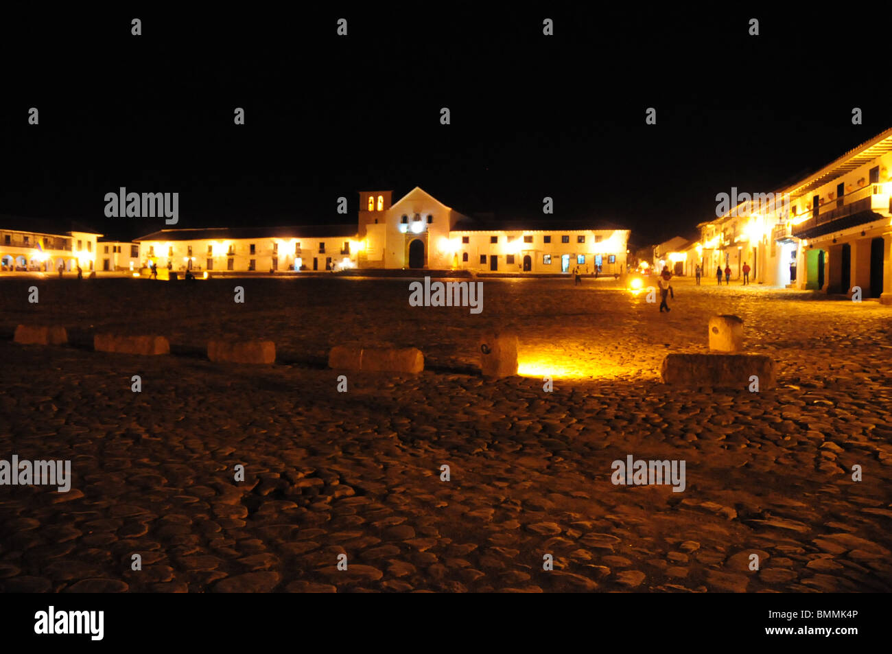 Casco antiguo, Tunja, Colombia Imagen De Stock
