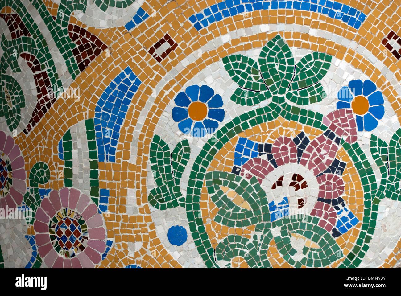 Palau de la Música Catalana, detalle Imagen De Stock