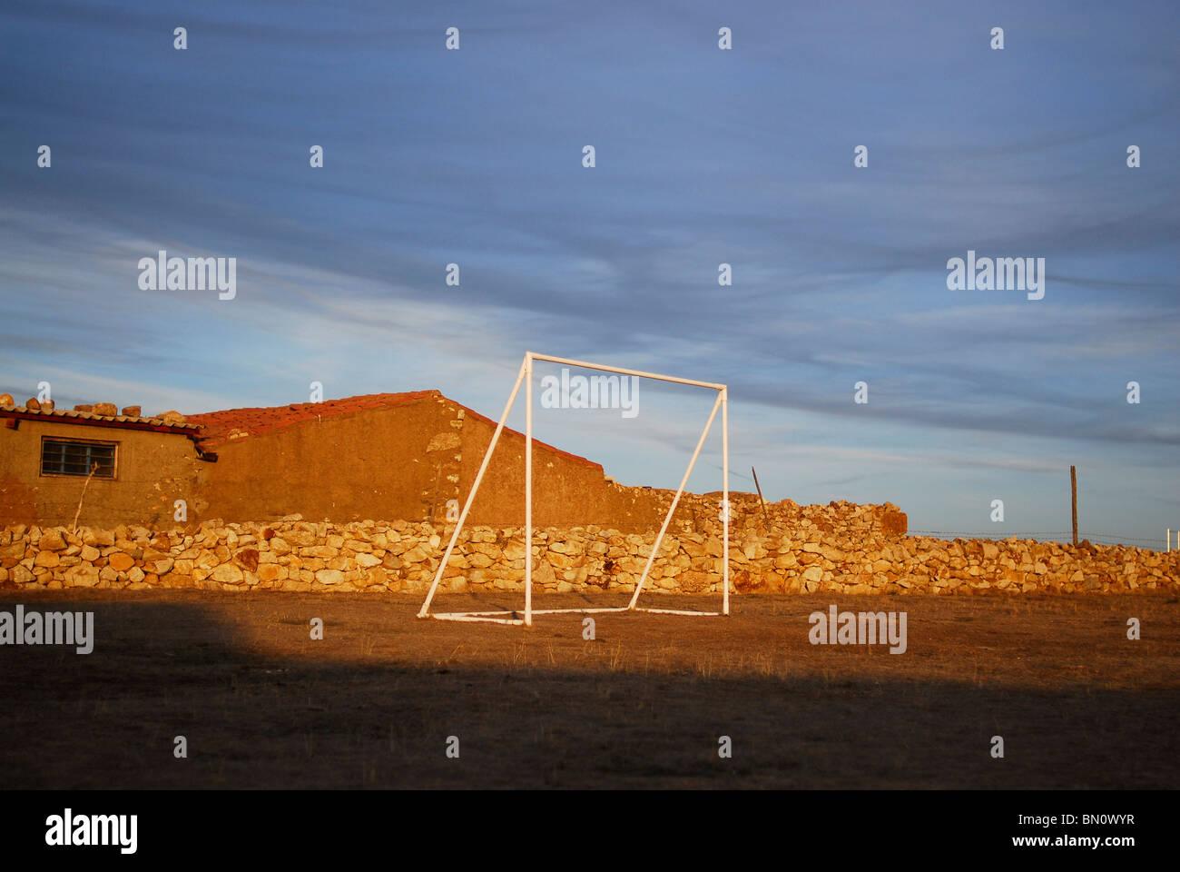 Porteria, provincia de Salamanca. España. Objetivo en la provincia de Salamanca, España. Imagen De Stock