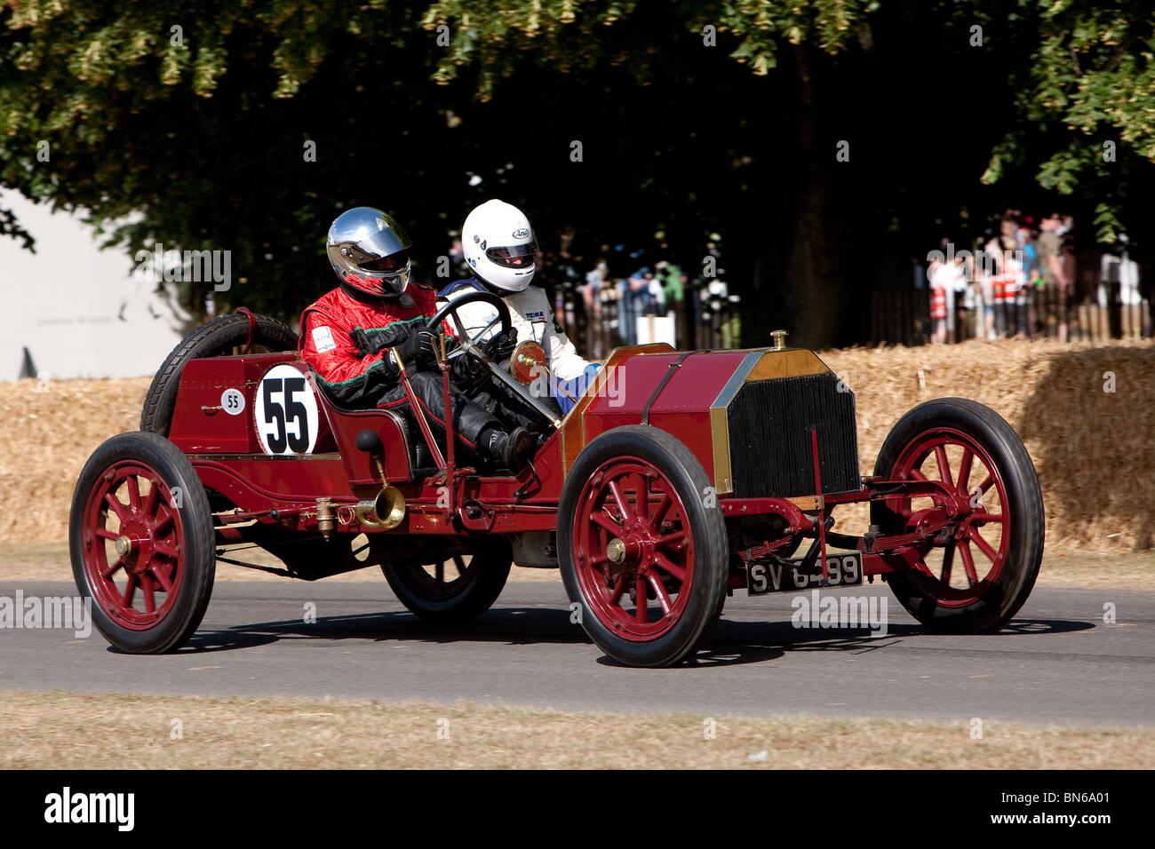 1910 Lancia Tipo 55 Corsa, Festival de Velocidad de Goodwood 2010, Imagen De Stock