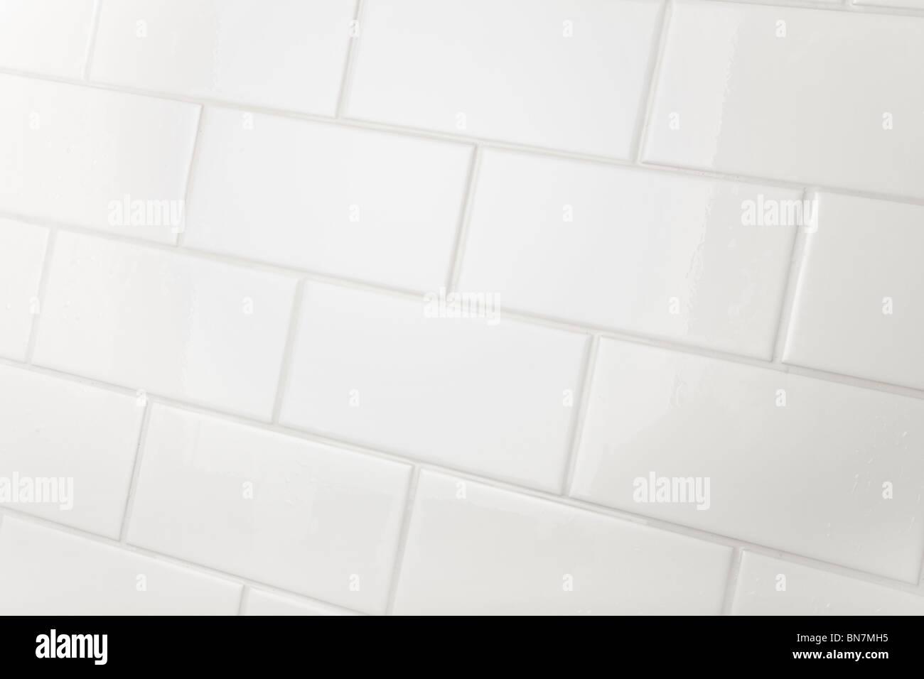 Cuarto de baño azulejo de pared de fondo Imagen De Stock