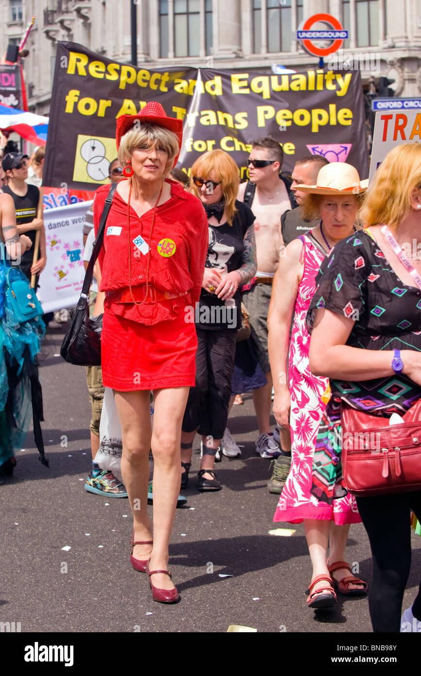 Orgullo Gay De Londres Los Hombres Vestidos De Mujer En