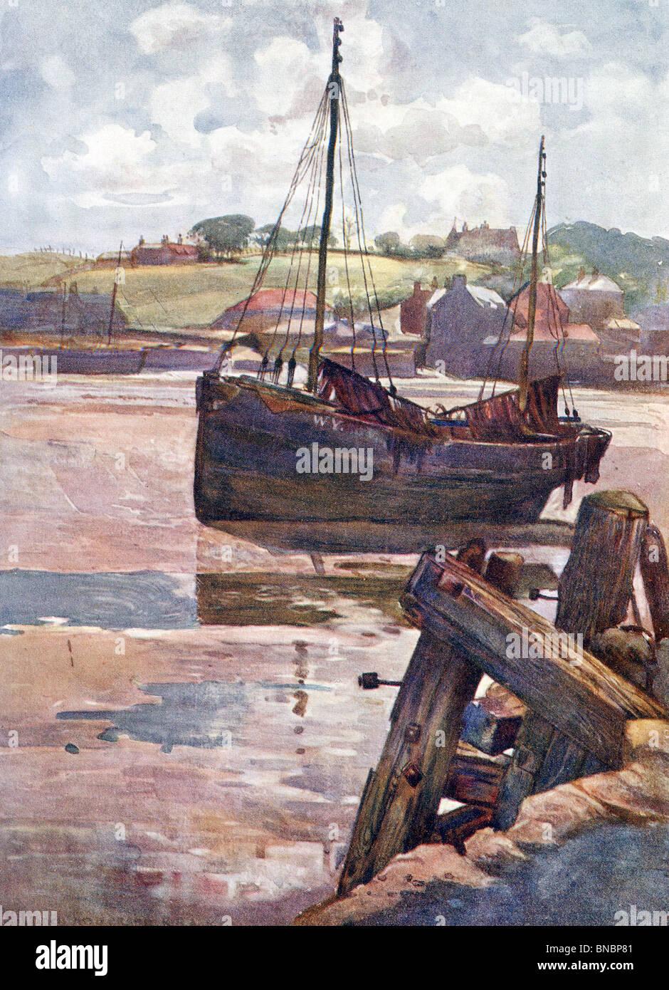 Whitby, Inglaterra Imagen De Stock