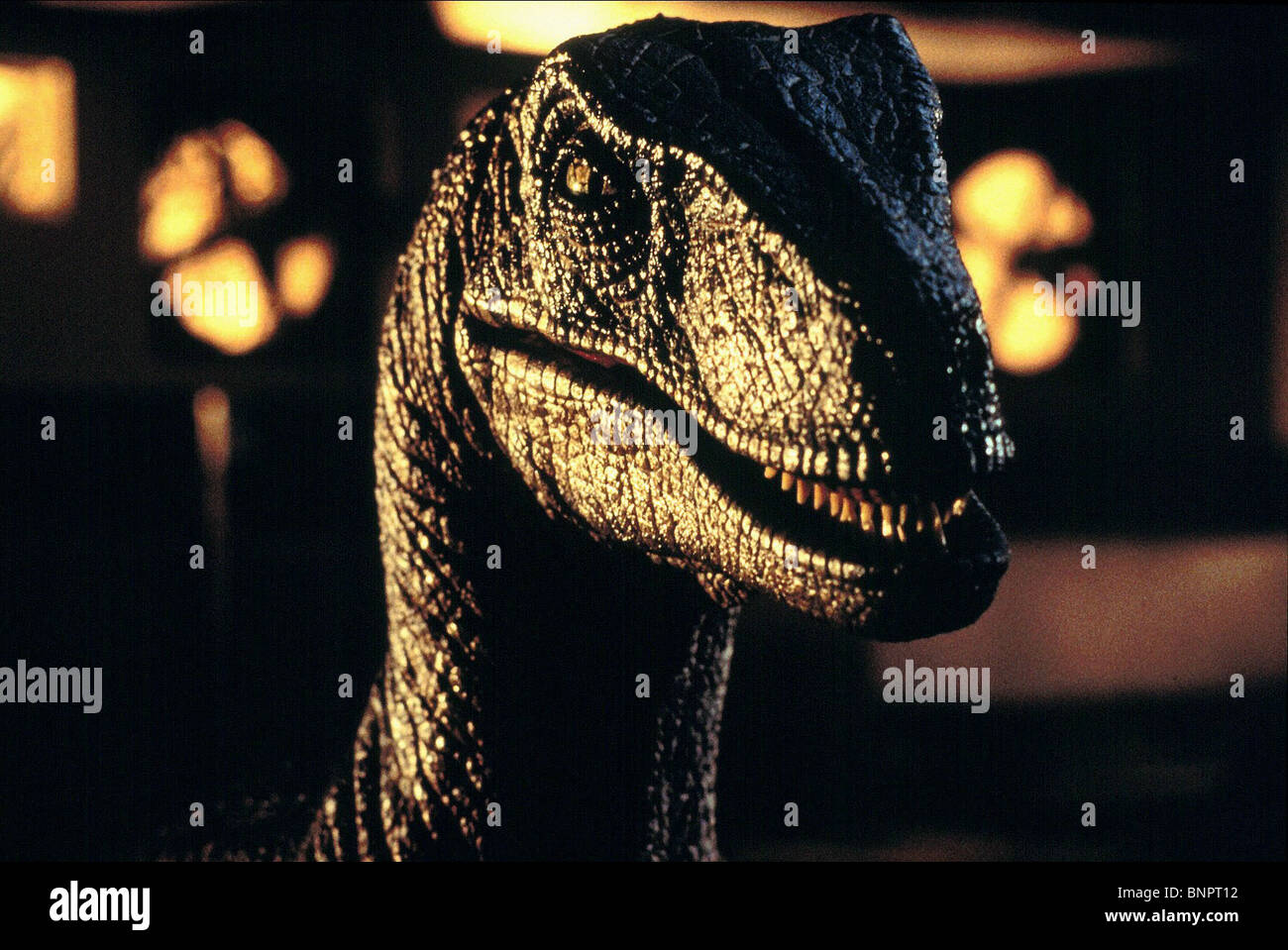 RAPTOR Jurassic Park (1993) Imagen De Stock